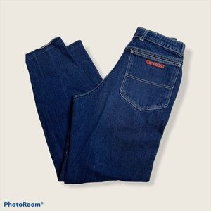 Sasson vintage high rise pleated 80's mom jean